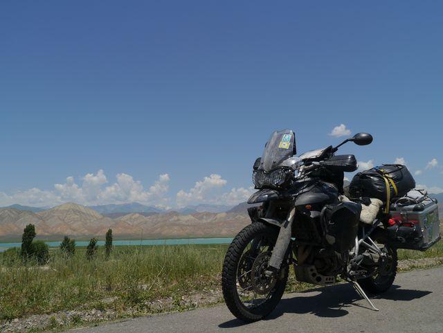 auf dem Weg um Pamir