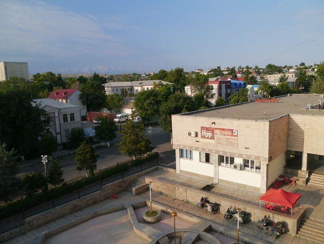 Hotel in Osh - Pamir ca 100km entfernt